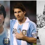 Pele bênh vực Messi