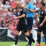 Robben nghỉ sáu tuần vì chấn thương
