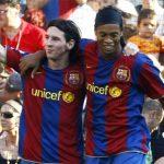 Ronaldinho ủng hộ Messi giành Quả bóng Vàng 2016
