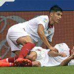 Sevilla trở thành đội Tây Ban Nha đầu tiên dùng toàn 'hàng ngoại'