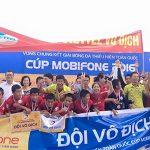 Đánh bại SLNA, Viettel bảo vệ ngôi vô địch U13 toàn quốc