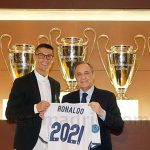 Ronaldo gia hạn hợp đồng với Real đến 2021