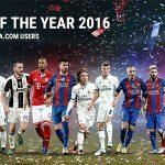 Real Madrid áp đảo Đội hình tiêu biểu năm 2016 của UEFA