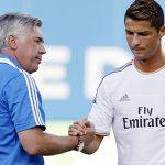 Ancelotti: 'Ở Real, tôi phải xem Ronaldo muốn đá ở vị trí nào'