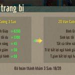 Tùy biến các chỉ số trong Võ Lâm Truyền Kỳ 1 Mobile (VLTK 1 Mobile)