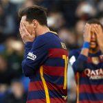 Lỡ chiến thắng trước Espanyol, Barca rơi xuống thứ hai Liga