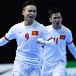 Thắng 8-1, tuyển futsal Việt Nam vào tứ kết giải châu Á
