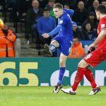 Vardy lập tuyệt phẩm, Leicester trả nợ Liverpool