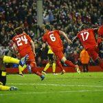 Liverpool ngược dòng thần kỳ, tiễn Dortmund rời Europa League