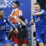 Vardy lập cú đúp ngày Leicester nâng Cup vô địch
