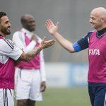 Tân Chủ tịch FIFA so tài với Cannavaro, Deco