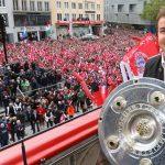 Bayern khoe kỷ lục lần thứ tư vô địch Bundesliga liên tiếp