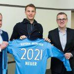 Manuel Neuer ở lại Bayern đến năm 2021