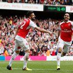 Arsenal vươn lên vị trí á quân khi Tottenham đại bại