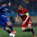 Công Vinh lập hat-trick, Việt Nam thắng trận đầu với HLV Hữu Thắng