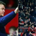 Van Gaal: 'CĐV Man Utd về sớm để tránh tắc đường'