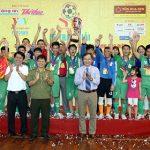 Phú Thọ vô địch giải bóng đá trẻ em đặc biệt