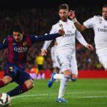 Suarez ngán đối mặt Ramos và Pepe ở El Clasico