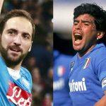 Maradona bất bình vì chủ tịch Napoli chê Higuain béo