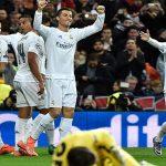 Ronaldo sắm vai người hùng, Real thẳng tiến vào tứ kết