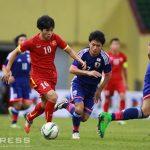 U23 Việt Nam thua trong trận đấu kín với U23 Nhật Bản