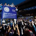 Bangkok náo động vì màn rước Cup thứ hai của Leicester City