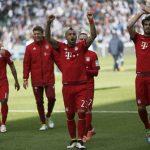 Bayern còn cách ngôi vương Bundesliga một trận thắng