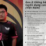 Dia1 úp mở khả năng tham gia cuộc tuyển tài năng LMHT của Gen.G