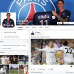 Facebook đăng tin Ronaldo đoàn tụ với Di Maria
