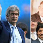 Ông chủ Man City tri ân Pellegrini bằng bức tranh quý