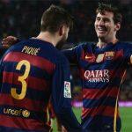 Messi phớt lờ thành tích ghi 100 bàn cùng Suarez và Neymar