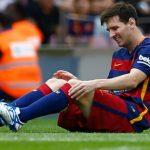 CĐV Barca không muốn Messi mạo hiểm ra sân ở El Clasico