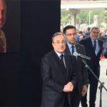 Chủ tịch Real tới Nou Camp tưởng niệm Cruyff
