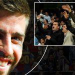 Pique diễu cợt vụ Real Madrid phạm quy ở Cup Nhà Vua