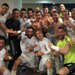 Ronaldo mặc quần lót mừng chiến thắng trước Barca