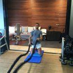 Ronaldo hăng say luyện tập trong khi dưỡng thương