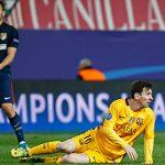 Atletico tiễn Barca khỏi Champions League