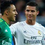 Ronaldo tiết lộ về lời khuyên sút phạt từ thủ môn Keylor Navas