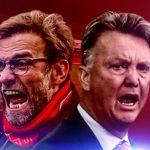 Vòng 22 Ngoại hạng Anh: Klopp tái ngộ Van Gaal