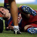 Messi chấn thương nặng, nghỉ thi đấu hai tháng