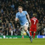 De Bruyne ghi bàn phút bù giờ, Man City thắng ngược Sevilla